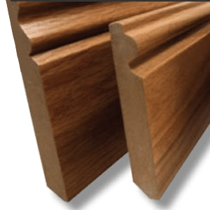 Veneered Skirting